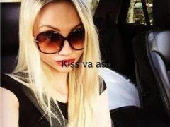 Escorte verificate: Blonda noua pe site senzuala
